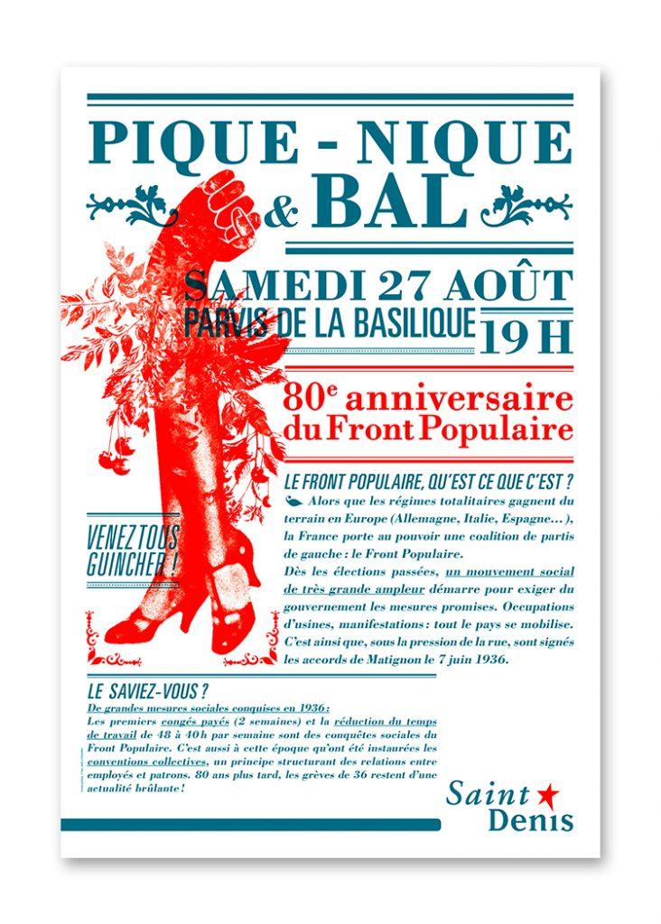 Ville de Saint-Denis >> Front Populaire