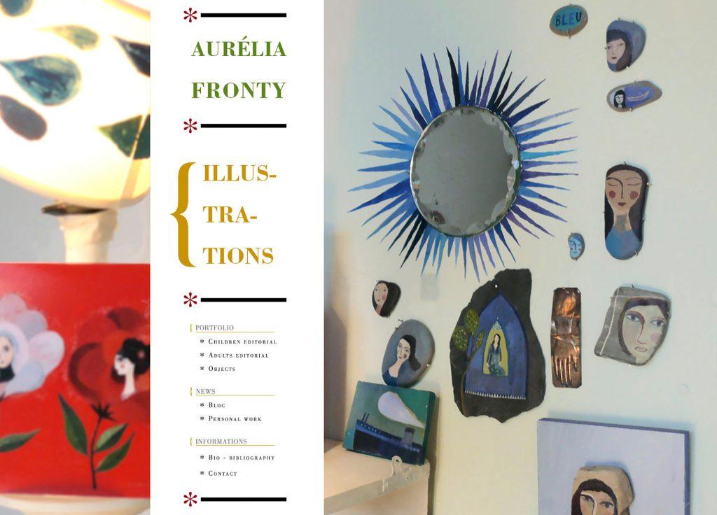 AURÉLIA FRONTY >> SITE